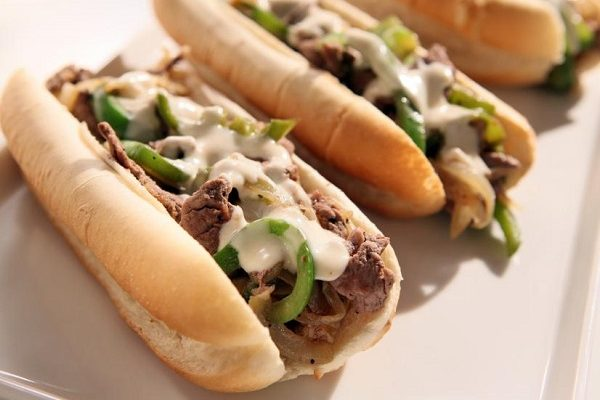 06. Philly Cheese Steak